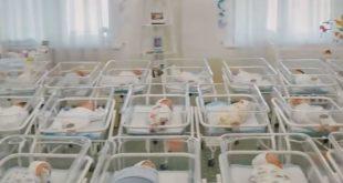 Десятки немовлят  плачуть у залі київського готелю. Їх народили сурогатні матері