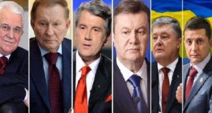 Як українці ставляться до всіх президентів України?